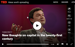 TED Thomas Piketty