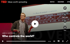 who controls the world TED talk