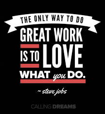 work with passion steve jobs